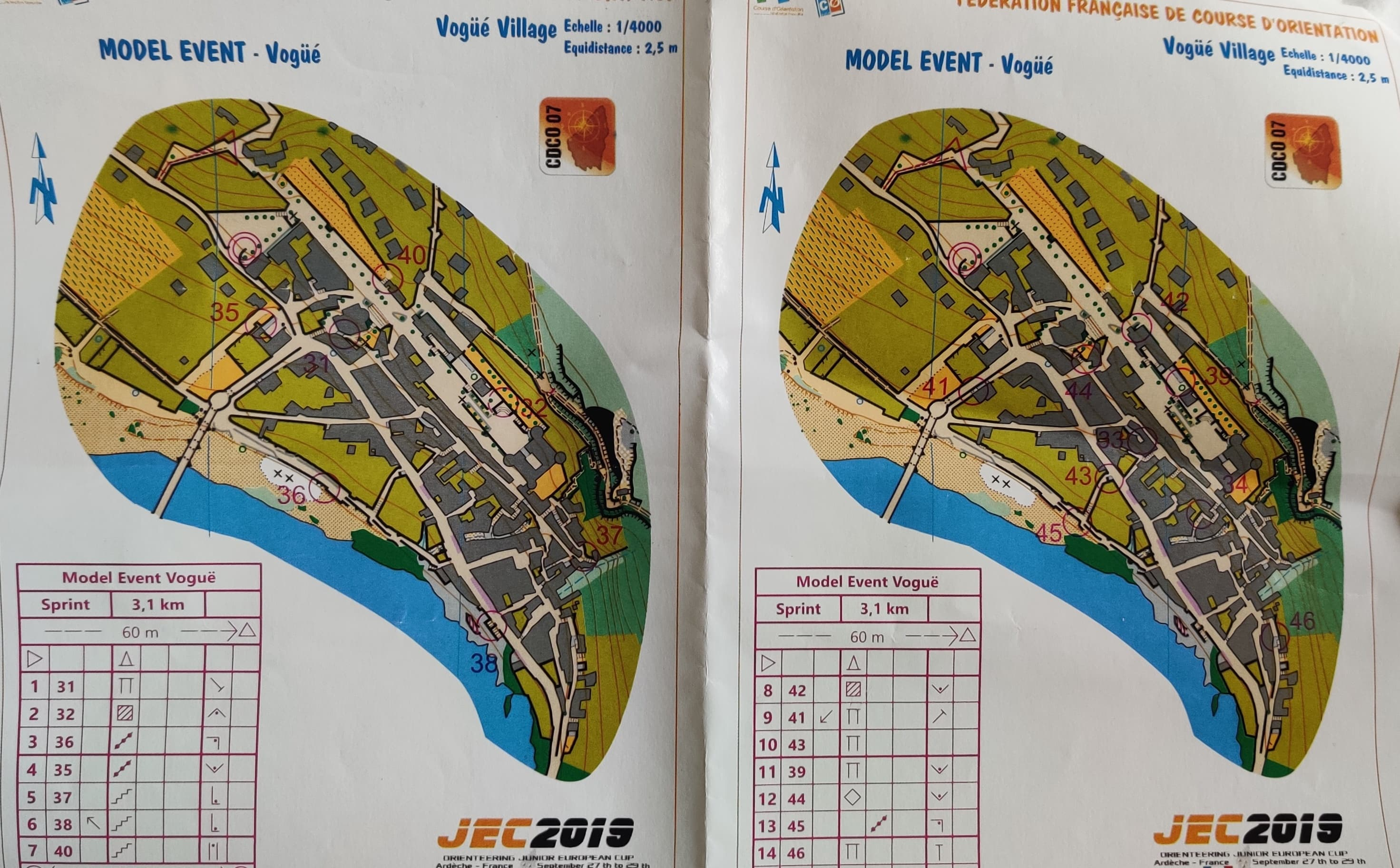 JEC Model event sprint (2019-09-26)
